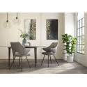 Isola - modern dining chair in premium faux leather