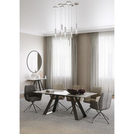 Laris ceramic top extendable table