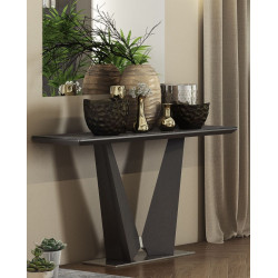 Rico ceramic tile top console table