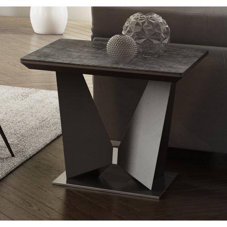 Rico ceramic tile top side table