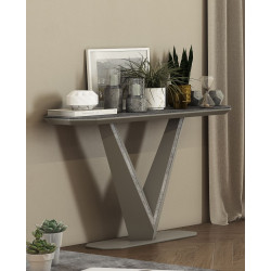 Rico II ceramic tile top console table