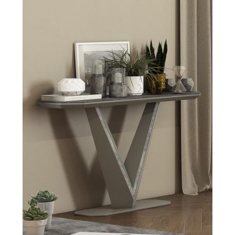 Rico II ceramic tile top console table
