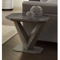 Rico II ceramic tile top side table