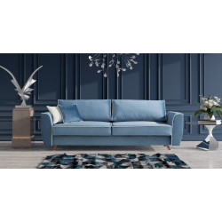 Hugo 3 seater sofa bed