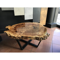 Beauty Amber natural shape coffee table
