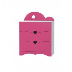 Romantic - chest of 3 drawers
