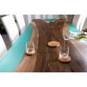Island III bespoke resin dining table