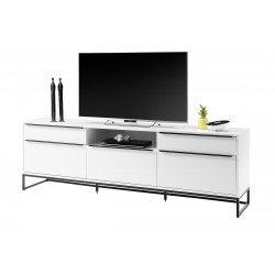 Dakar white matt lacquer TV Unit