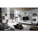 Dakar white matt lacquer TV Unit