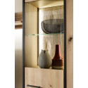 Campio 60cm assembled solid wood display cabinet