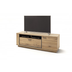 Campio 180cm assembled solid wood TV unit