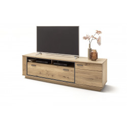Campio 210cm assembled solid wood TV unit