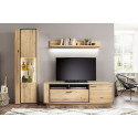 Campio IV solid wood wall composition