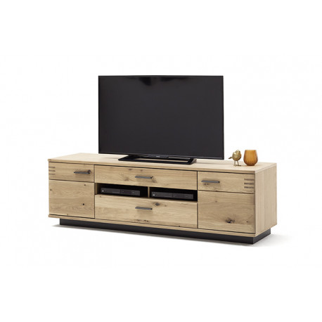 Salvadore 180cm assembled solid wood TV unit