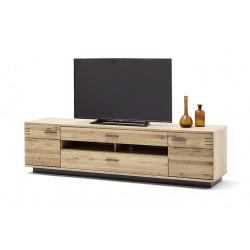 Salvadore 210cm assembled solid wood TV unit