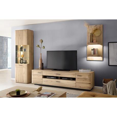 Salvadore III solid wood wall composition