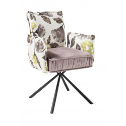 Joel - modern dining chair in premium senile fabric