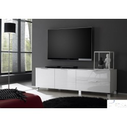 Solo II - high gloss tv unit