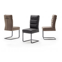Rochester modern dining chair with pocket springs