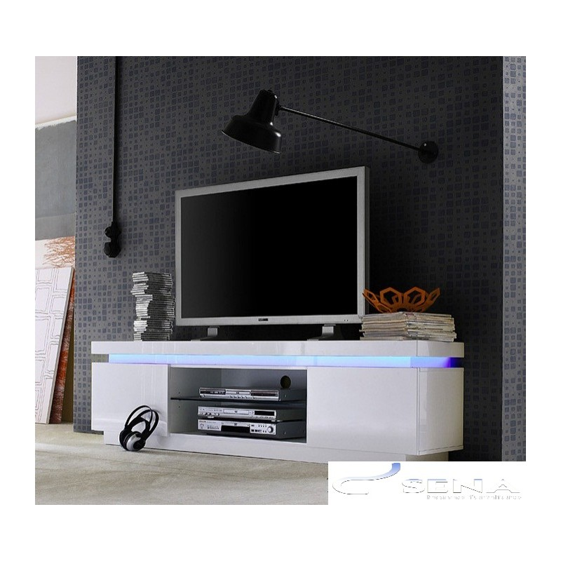 Avanti Ii Gloss Tv Stand With Rgb Lights Tv Stands 533 Sena Home Furniture