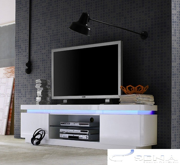 Avanti Ii Gloss Tv Stand With Rgb Lights Tv Stands 533