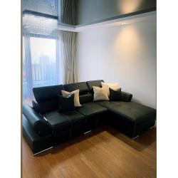 Lorenzo II - corner modular sofa with bed option