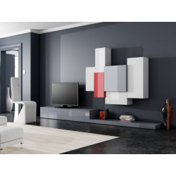 Tetris I - lacquer wall set