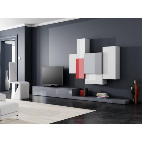 Tetris I - lacquer wall set