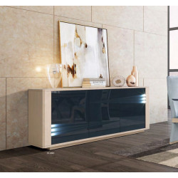 Siena - luxury bespoke sideboard with lighting