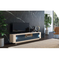 Siena - luxury bespoke TV unit with lighting