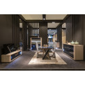 Siena - luxury bespoke TV unit with lighting