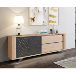 Cut - luxury bespoke sideboard with lighting