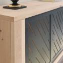 Cut - luxury bespoke sideboard with lighting