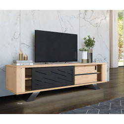 Cut - luxury bespoke TV unit with lighting