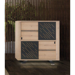 Cut - luxury bespoke storage cabinet with lighting