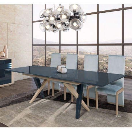 Siena extendable bespoke dining table