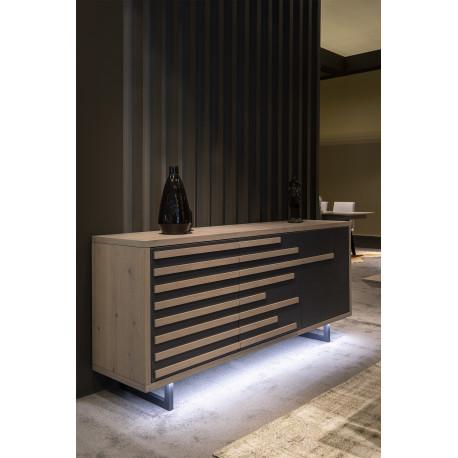 Windy - luxury bespoke sideboard with lighting