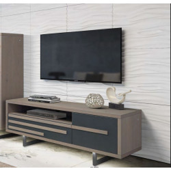 Windy - luxury bespoke TV unit with lighting