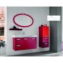 Rosa - lacquer bathroom set