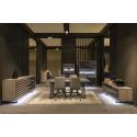 Windy - luxury bespoke TV unit with lighting