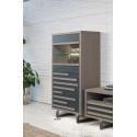 Windy - luxury bespoke display cabinet with lighting