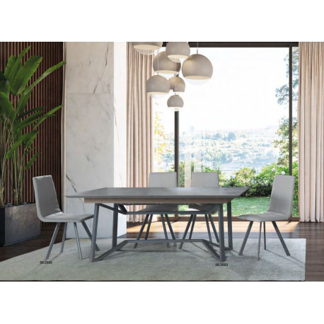 Windy - extendable bespoke dining table with ceramic top