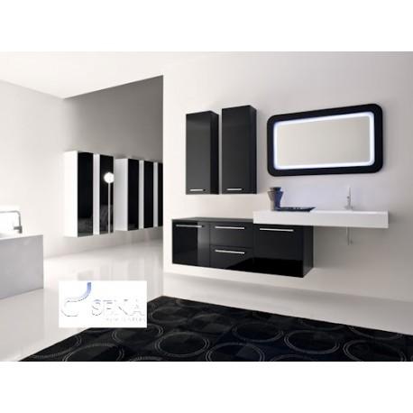 Nero II - lacquer bathroom set