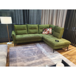 Axel II luxury corner sofa with movable backrests