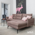 Axel luxury corner sofa with movable backrests
