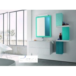 Domino - lacquer bathroom set