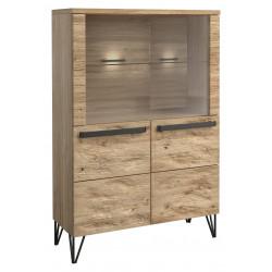 Piraeus assembled low display cabinet
