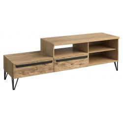 Piraeus assembled solid wood TV stand