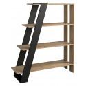 Piraeus assembled solid wood bookcase