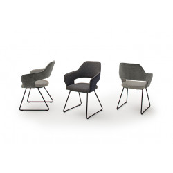 Newcastle dining chair with armrests